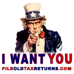 File Old Tax Returns Logo