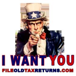 File Old Tax Returns Logo