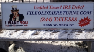 Even in the dead of winter, we'll file your old taxes!
